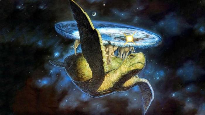 Как описывали Землю  фантасты, ученые и фантазеры.