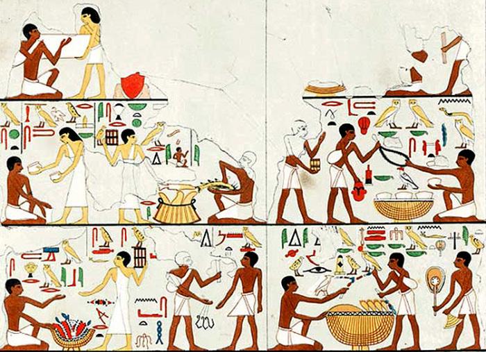 Торговля в Древнем Египте.