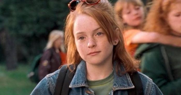 Линдси Лохан в юные годы.