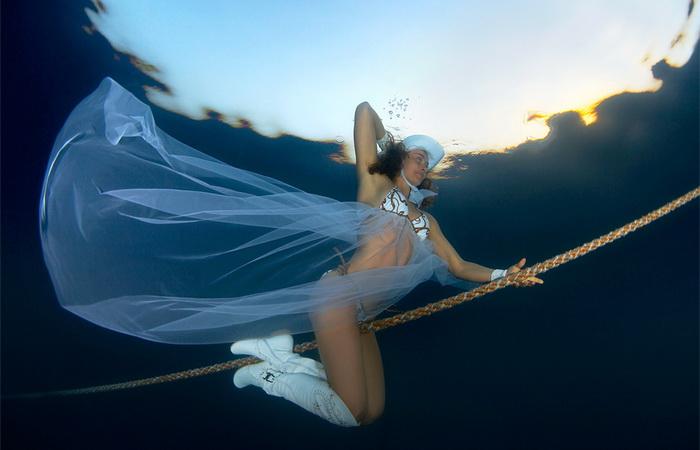 Подводные фотографии Марины Кочетовой. Почти Маргарита.