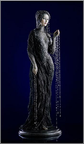 Красивые куклы Александры Кукиновой. Ундина