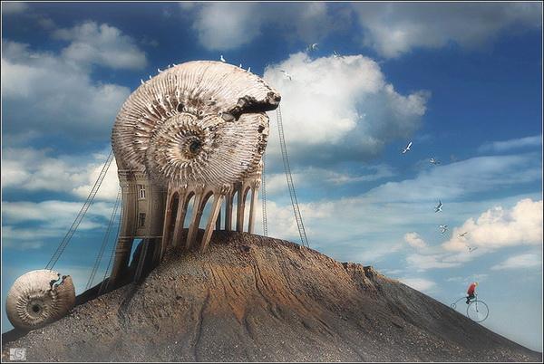 Креативные фотографии Станислава Одягайло. Уходящие сомнения.