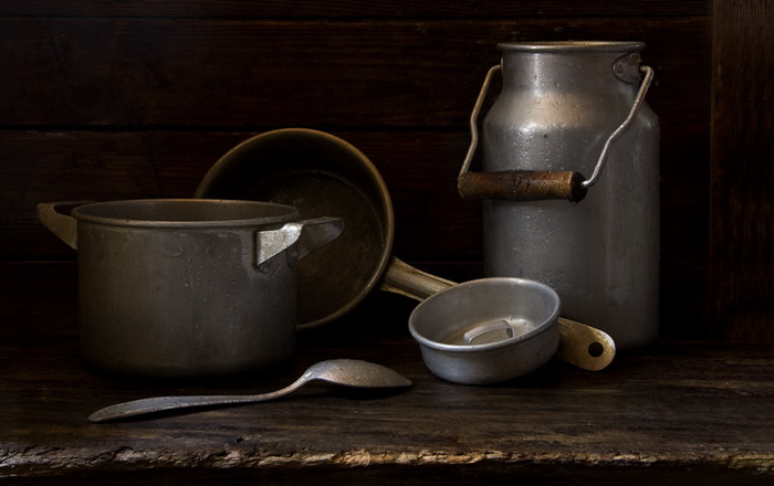 Фото-натюрморты Александра Сенникова. Посуда.