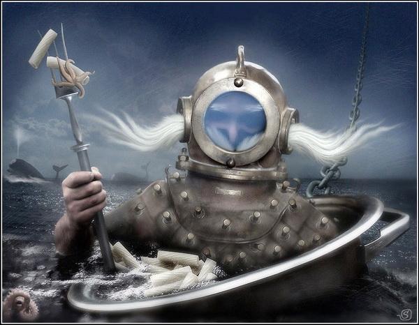 Станислав Одягайло. Нептун по-флотски.