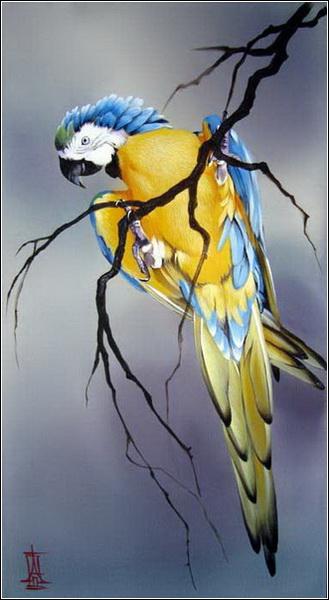 Алина Осеева. Попугай.