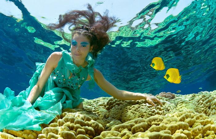 Подводные фотографии Марины Кочетовой. Что скрывает море.