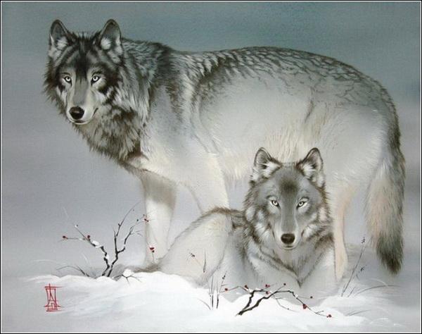 Алина Осеева. Волки