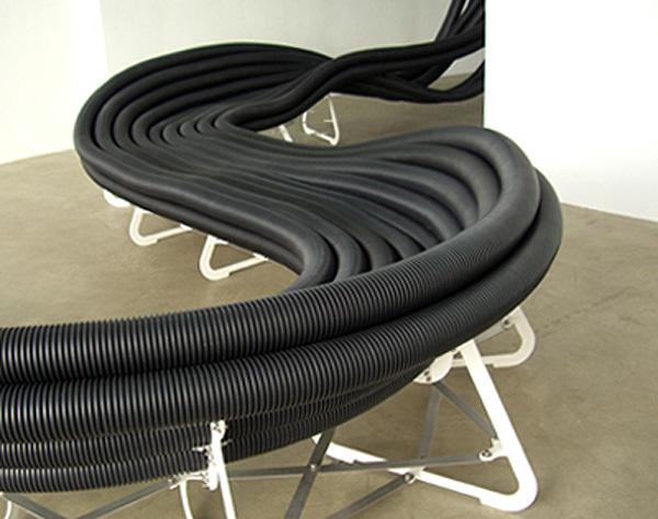«Трубные» функциональные инсталляции от OnSite Studio