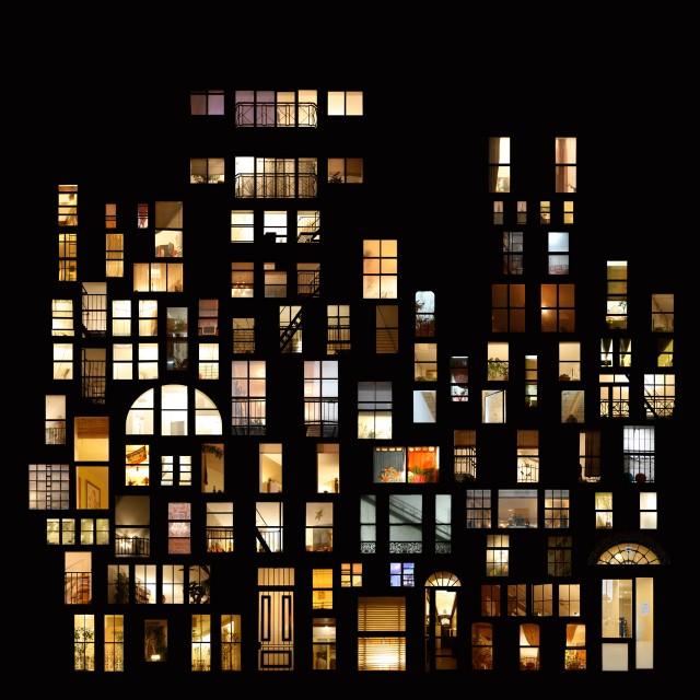 Колекция коллажей Tables of privacy «Картины интимности»
