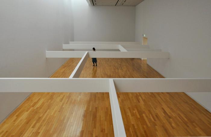Beam - архитектурная инсталляция Рюдзи Накамуры (Ryuji Nakamura)