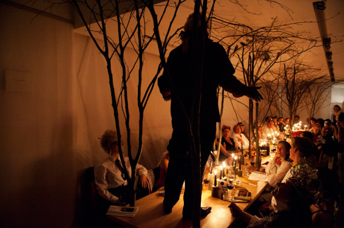 «Fantasies of Сharles» - арт-инсталляция в рамках художественной ярмарки Art Brussels