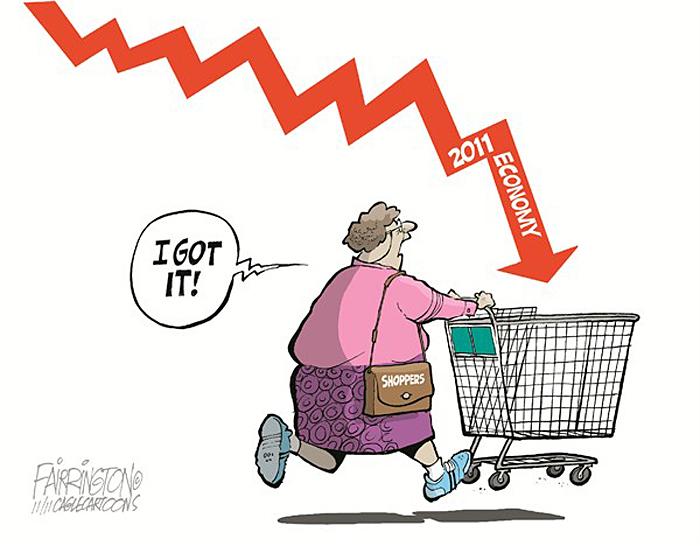 Рождественские покупки в США.