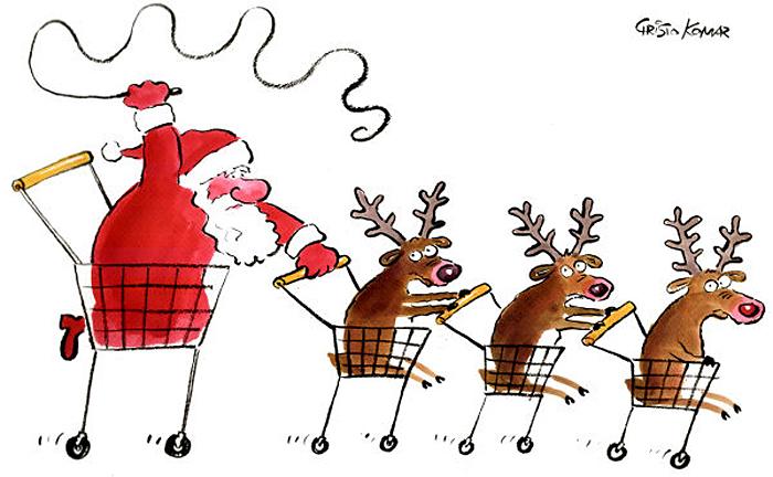 На носу черная пятница. Санта в пути.