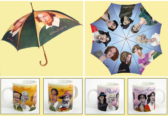 Зонты и чашки для любителей классики