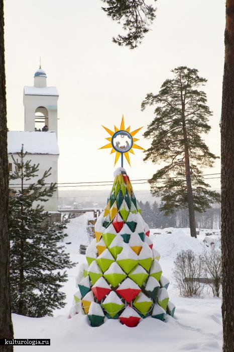 Фарфоровая рождественская елка