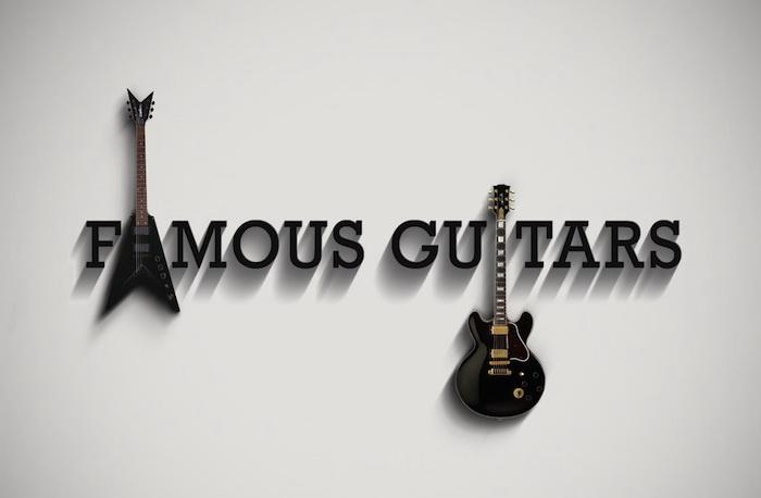 Famous Guitars: проект дизайнера Федерико Мауро