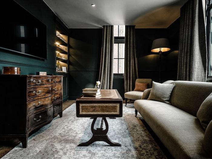 Уютная комната для отдыха.
