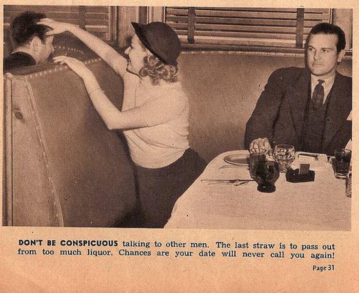 Руководство для одиноких женщин на свидании