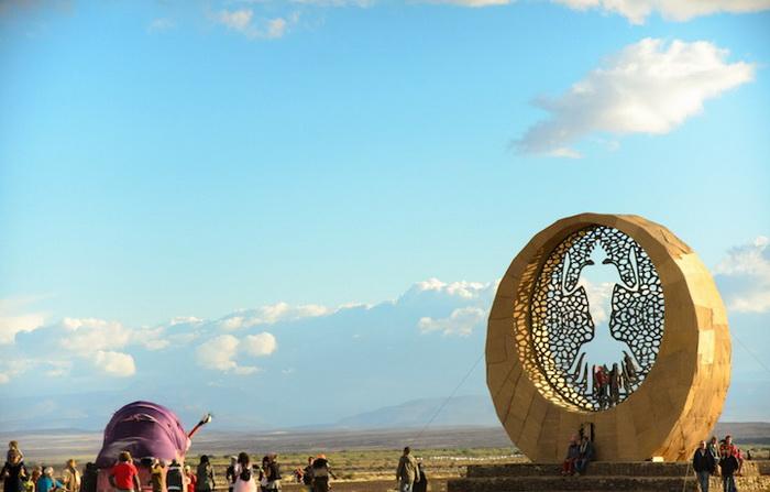 Фестиваль AfrikaBurn-2013
