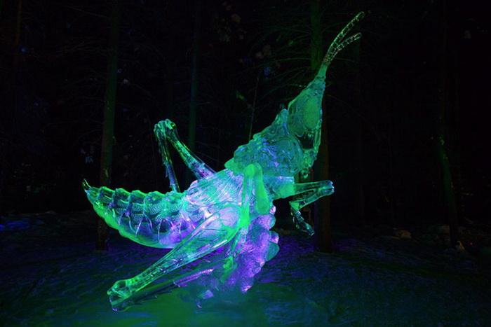 В World Ice Art Championship-2013 приняли участие 70 команд скульпторов со всего мира