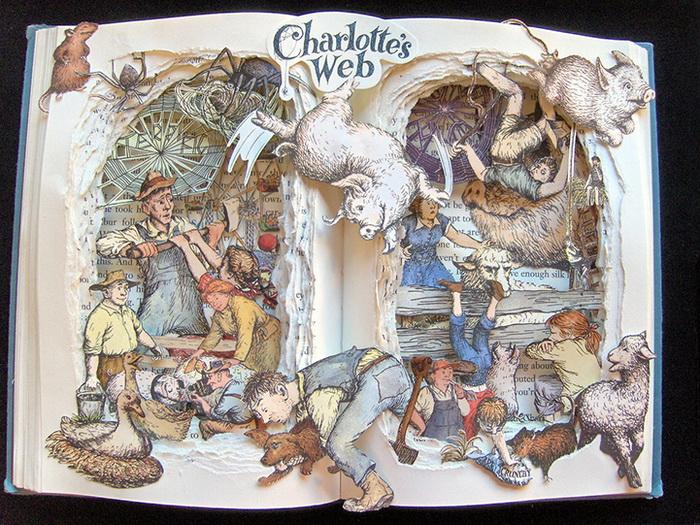 Паутина Шарлотты. 3D-иллюстрации от Келли Берри