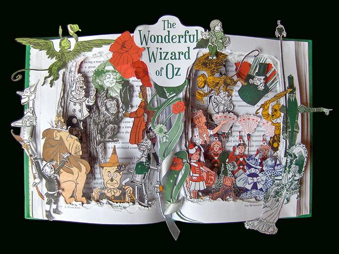 Волшебник страны Оз. 3D-иллюстрации от Келли Берри