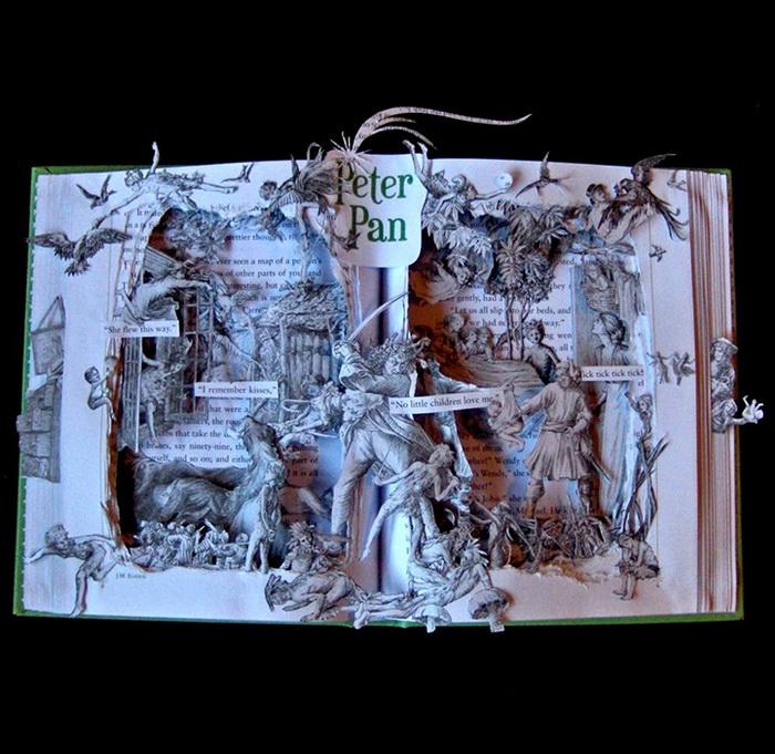 Питер Пен. 3D-иллюстрации от Келли Берри