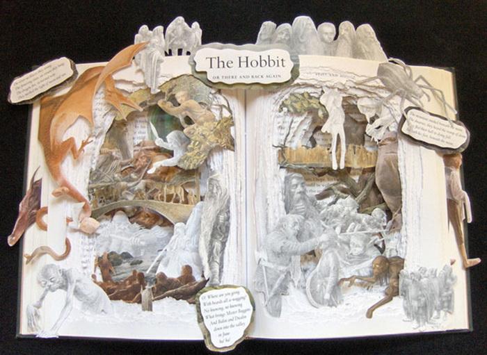 Хоббит. 3D-иллюстрации от Келли Берри