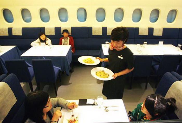 Тематический авиаресторан в городе Taipei (Тайвань)