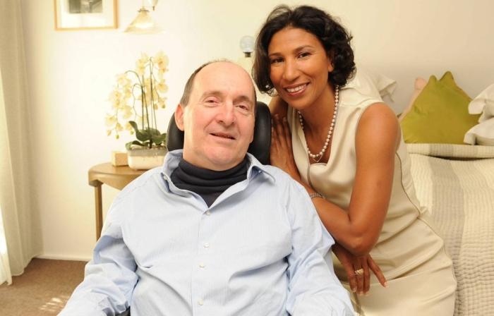 Филиппо Поццо ди Борги с женой.