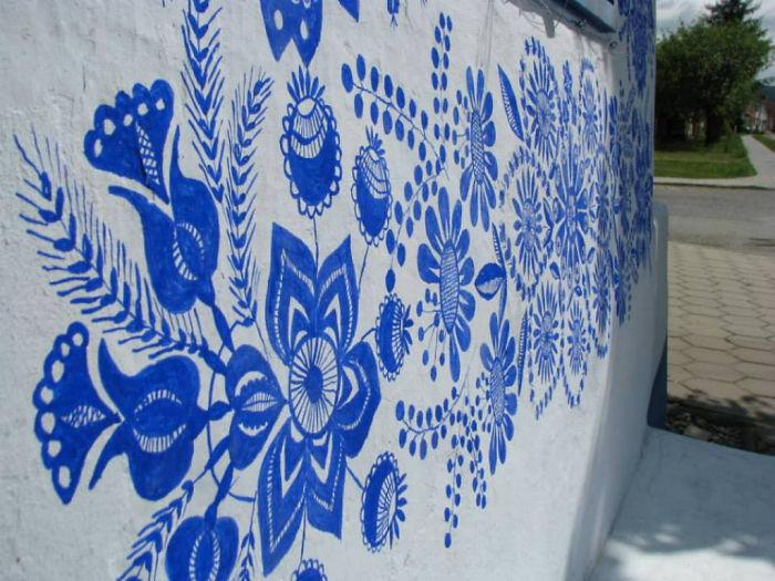 Традиционный моравийский орнамент.