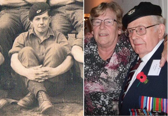 Алан Кинг в молодости и встреча со спасенной женщиной 72 года спустя