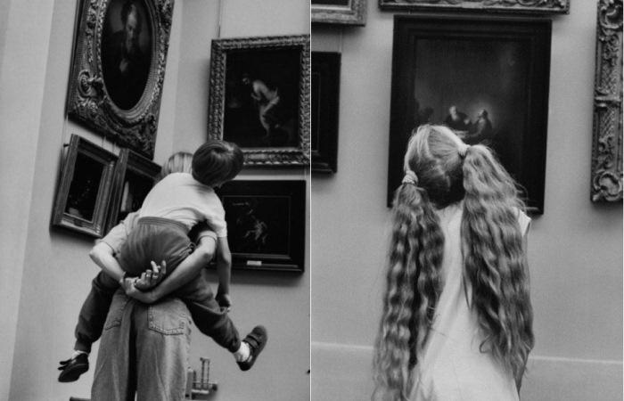 Алесио де Андраде за 40 лет собрал коллекцию фотографий о посетителях Лувра.