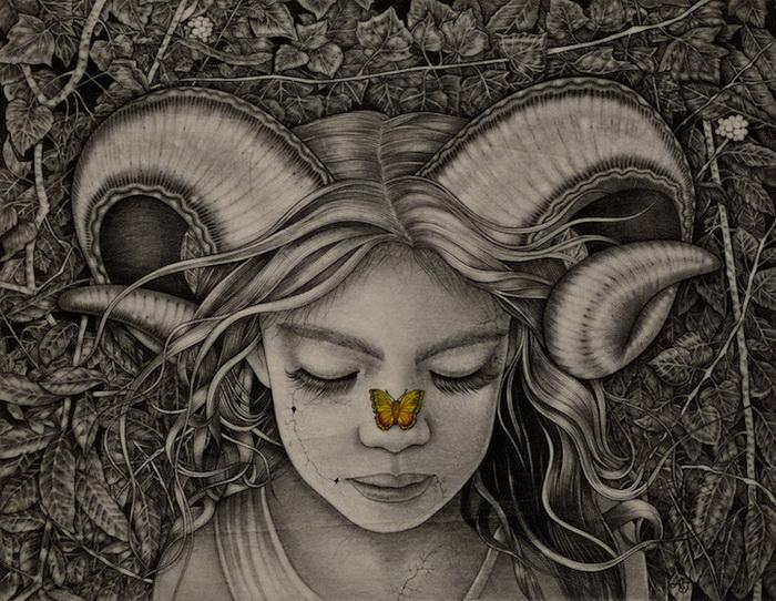Мистические женские портреты от Alessia Iannetti