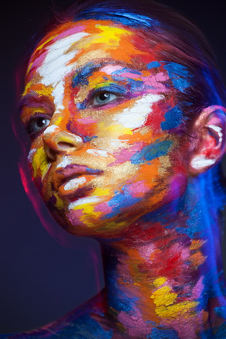 Оригинальный боди-арт от Александра Хохлова