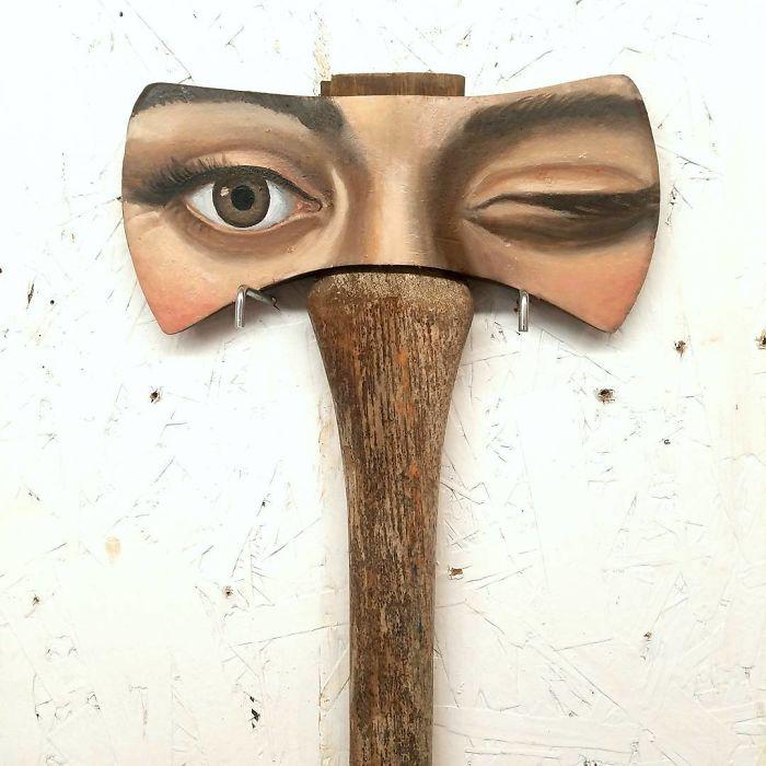 Оригинальные арт-объекты от Александры Диллон.