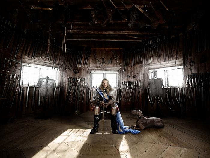 Фотосессия в старинном замке от Алексии Синклер (Alexia Sinclair)