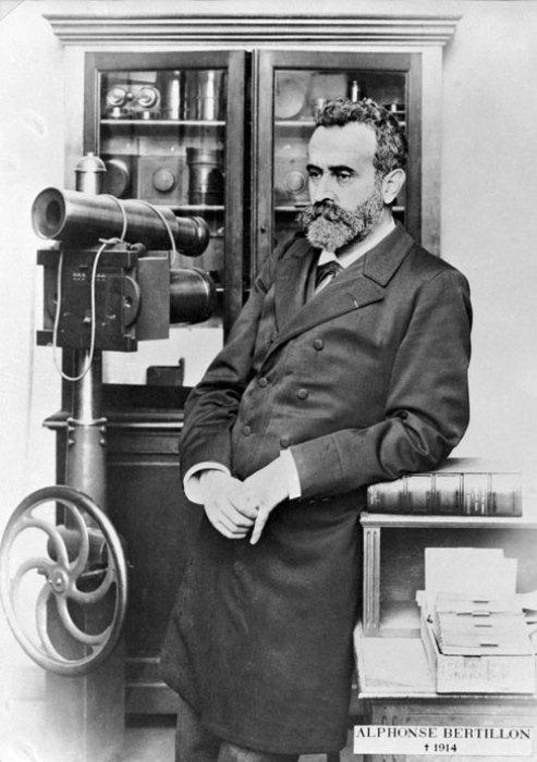 Альфонс Бертильон - юрист-изобретатель.