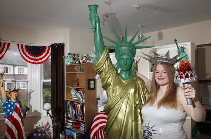 Amanda Whittaker без памяти влюблена в Статую Свободы