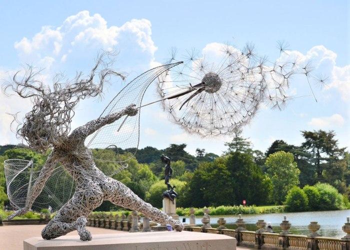 Сказочные скульптуры от Robin Wight, Великобритания