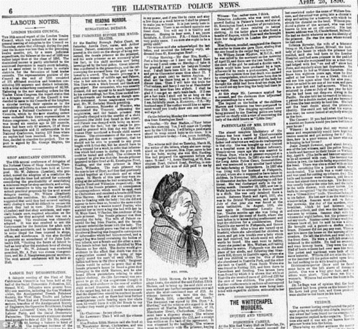 Об убийце писали все британские газеты.