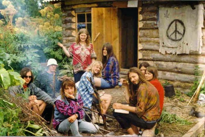 Коммуна хиппи. Америка, 1970-е годы