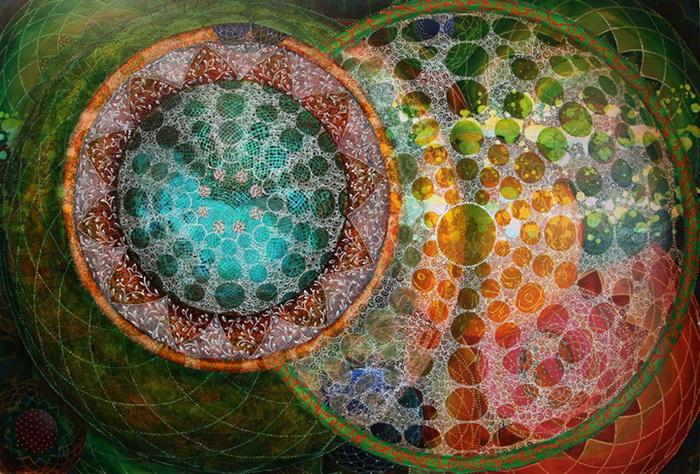 Гипнотические рисунки от Эми Чэн (Amy Cheng)
