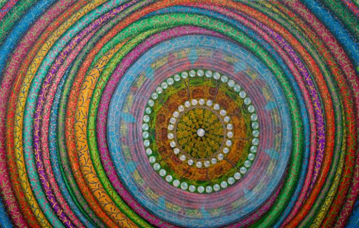 Мандала, нарисованная Эми Чэн (Amy Cheng)
