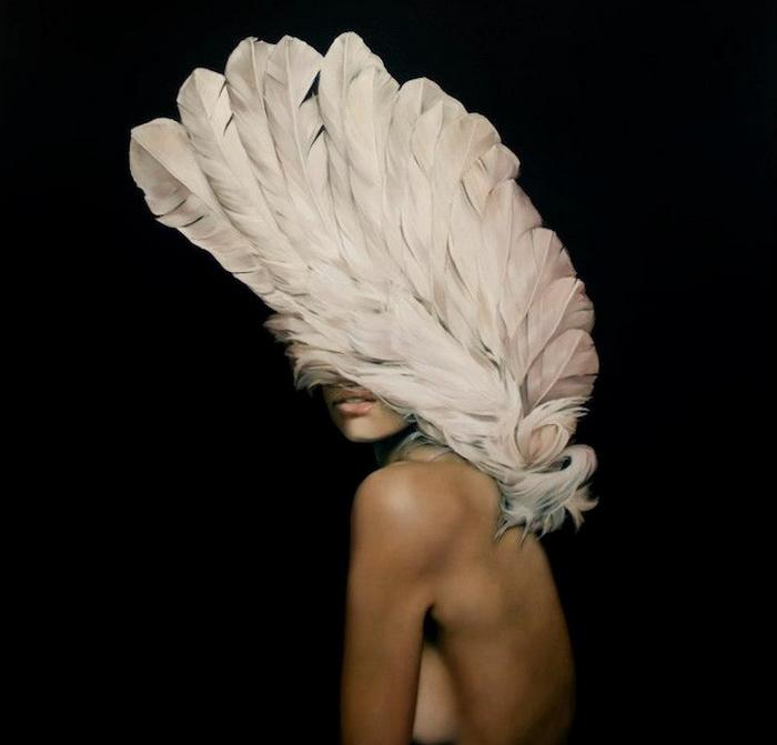 Женщины-птицы на рисунках художницы Amy Judd