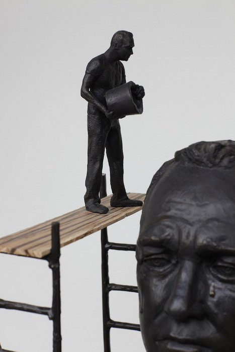 *Переработка слез*: скульптура от Эндрю Майерса (Andrew Myers)