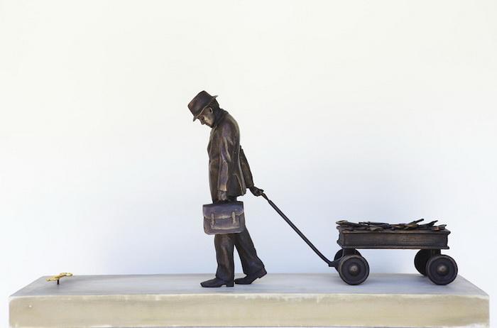 *Я перепробовал все*: скульптура от Эндрю Майерса (Andrew Myers)