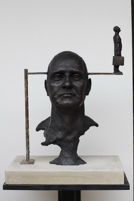*Скачок веры*: скульптура от Эндрю Майерса (Andrew Myers)