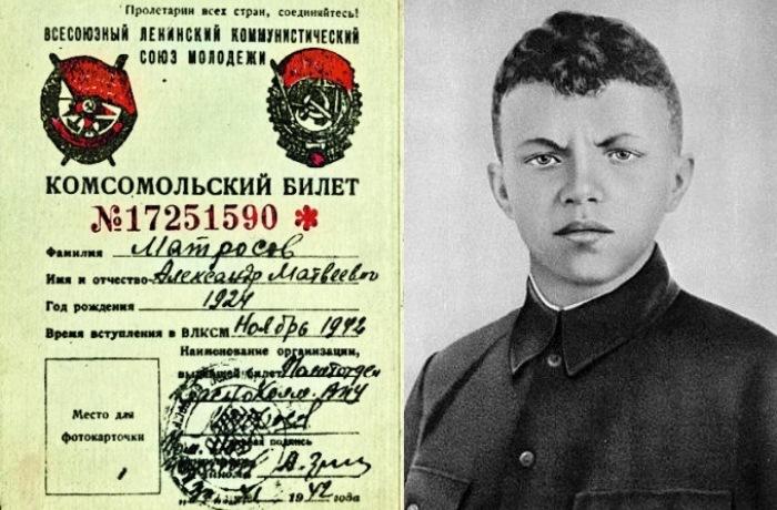Герои Великой Отечественной войны, повторившие подвиг Александра Матросова.