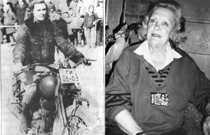 Наталья Андросова - бесстрашная мотогонцица.